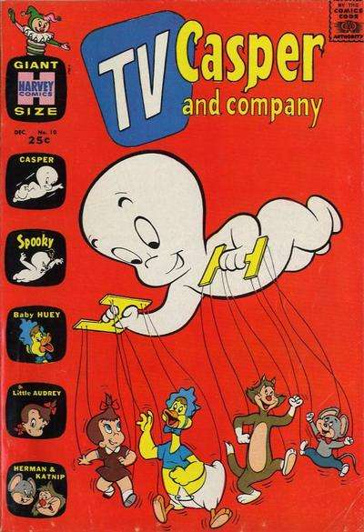 TV Casper & Company #10 Comic Books - Covers, Scans, Photos  in TV Casper & Company Comic Books - Covers, Scans, Gallery