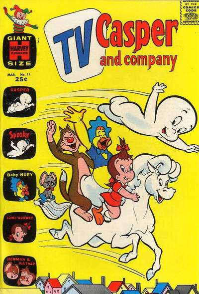 TV Casper & Company #11 Comic Books - Covers, Scans, Photos  in TV Casper & Company Comic Books - Covers, Scans, Gallery