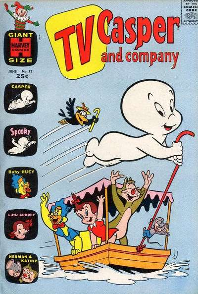 TV Casper & Company #12 Comic Books - Covers, Scans, Photos  in TV Casper & Company Comic Books - Covers, Scans, Gallery