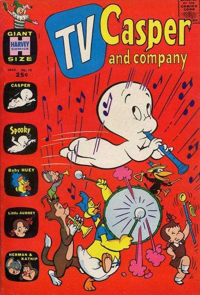 TV Casper & Company #15 comic books - cover scans photos TV Casper & Company #15 comic books - covers, picture gallery