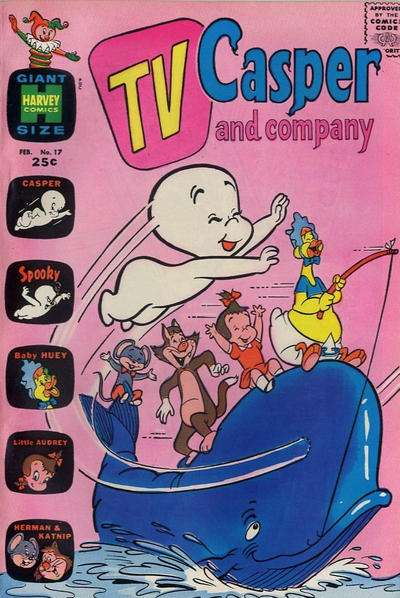 TV Casper & Company #17 Comic Books - Covers, Scans, Photos  in TV Casper & Company Comic Books - Covers, Scans, Gallery