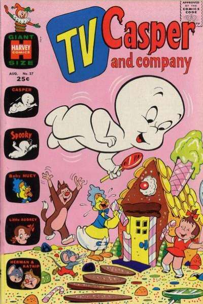 TV Casper & Company #27 comic books - cover scans photos TV Casper & Company #27 comic books - covers, picture gallery