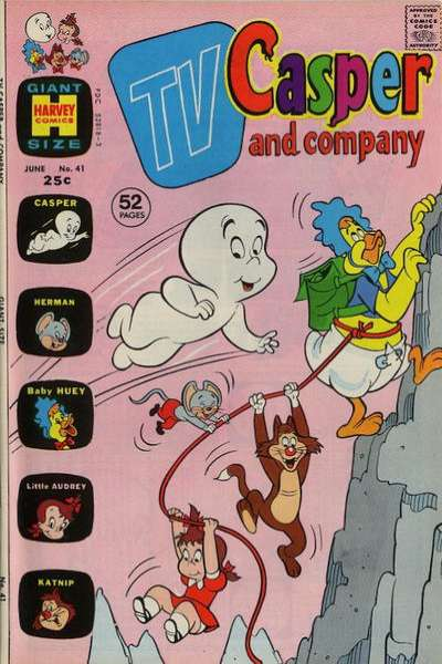TV Casper & Company #41 comic books for sale