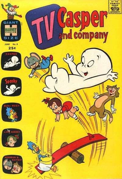 TV Casper & Company #8 Comic Books - Covers, Scans, Photos  in TV Casper & Company Comic Books - Covers, Scans, Gallery