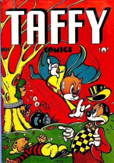 Taffy Comics comic books