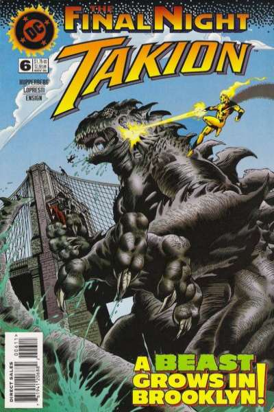 Takion #6 comic books for sale