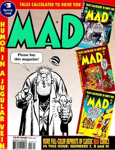 Tales Calculated to Drive You Mad #3 Comic Books - Covers, Scans, Photos  in Tales Calculated to Drive You Mad Comic Books - Covers, Scans, Gallery