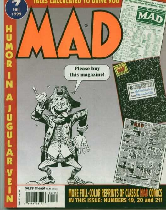 Tales Calculated to Drive You Mad #7 Comic Books - Covers, Scans, Photos  in Tales Calculated to Drive You Mad Comic Books - Covers, Scans, Gallery