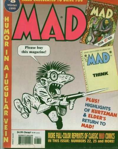 Tales Calculated to Drive You Mad #8 Comic Books - Covers, Scans, Photos  in Tales Calculated to Drive You Mad Comic Books - Covers, Scans, Gallery
