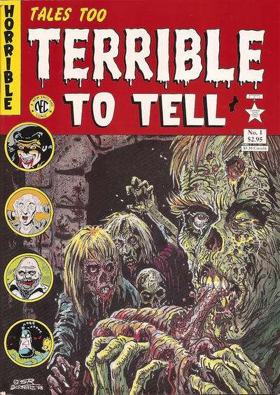 Tales Too Terrible to Tell comic books