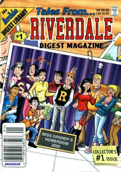 Tales from Riverdale Digest Comic Books. Tales from Riverdale Digest Comics.