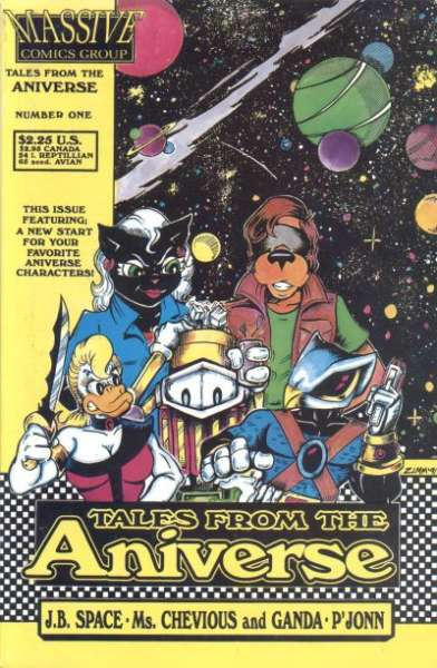 Tales from the Aniverse #1 comic books for sale