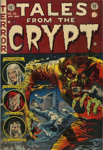 Tales from the Crypt #35 Comic Books - Covers, Scans, Photos  in Tales from the Crypt Comic Books - Covers, Scans, Gallery