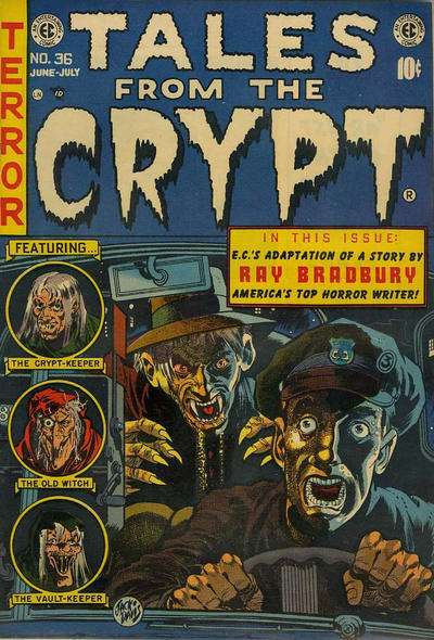 Tales from the Crypt #36 Comic Books - Covers, Scans, Photos  in Tales from the Crypt Comic Books - Covers, Scans, Gallery