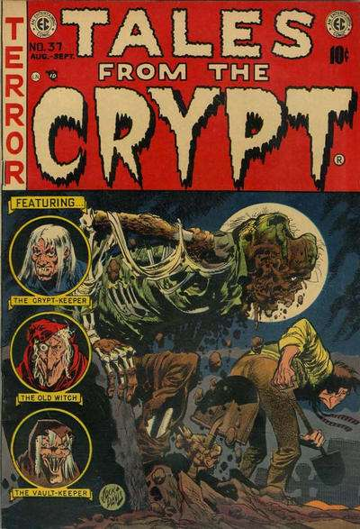 Tales from the Crypt #37 Comic Books - Covers, Scans, Photos  in Tales from the Crypt Comic Books - Covers, Scans, Gallery