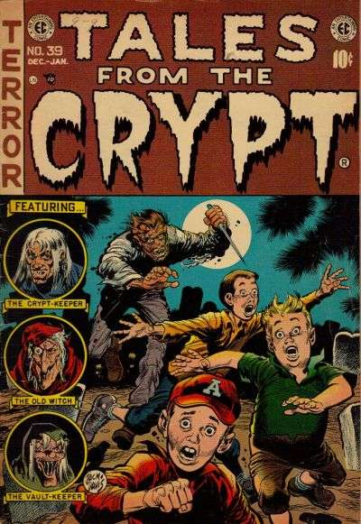 Tales from the Crypt #39 Comic Books - Covers, Scans, Photos  in Tales from the Crypt Comic Books - Covers, Scans, Gallery