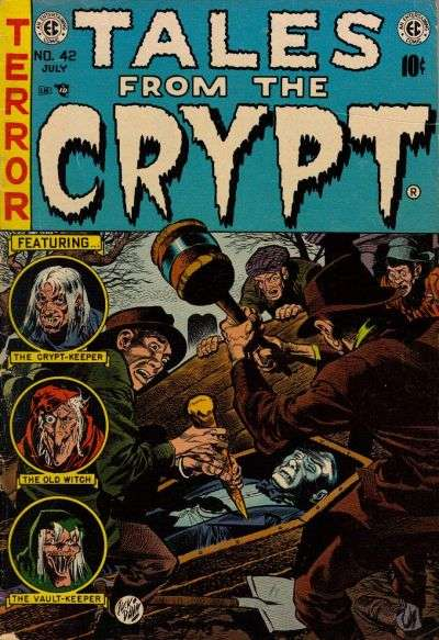 Tales from the Crypt #42 comic books - cover scans photos Tales from the Crypt #42 comic books - covers, picture gallery