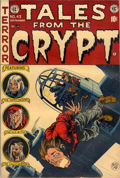 Tales from the Crypt #43 comic books - cover scans photos Tales from the Crypt #43 comic books - covers, picture gallery