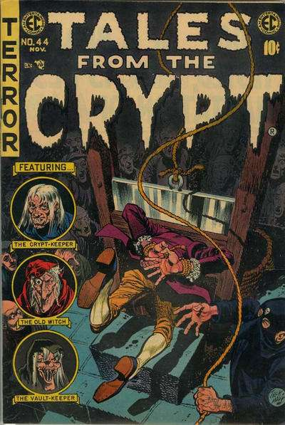 Tales from the Crypt #44 Comic Books - Covers, Scans, Photos  in Tales from the Crypt Comic Books - Covers, Scans, Gallery