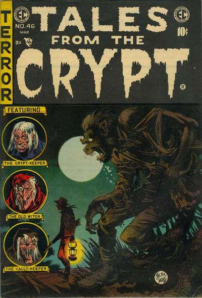 Tales from the Crypt #46 comic books - cover scans photos Tales from the Crypt #46 comic books - covers, picture gallery