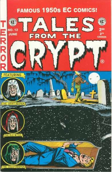 Tales from the Crypt #12 Comic Books - Covers, Scans, Photos  in Tales from the Crypt Comic Books - Covers, Scans, Gallery