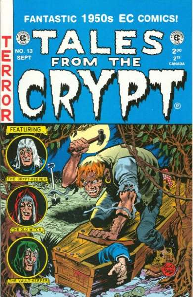 Tales from the Crypt #13 Comic Books - Covers, Scans, Photos  in Tales from the Crypt Comic Books - Covers, Scans, Gallery