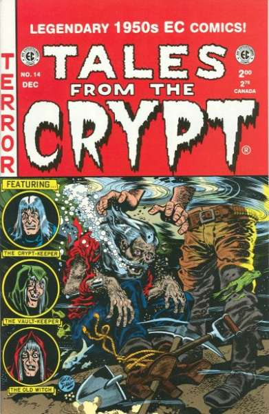 Tales from the Crypt #14 Comic Books - Covers, Scans, Photos  in Tales from the Crypt Comic Books - Covers, Scans, Gallery