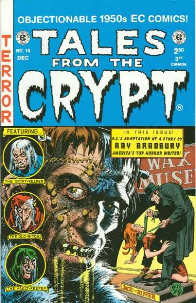 Tales from the Crypt #18 Comic Books - Covers, Scans, Photos  in Tales from the Crypt Comic Books - Covers, Scans, Gallery