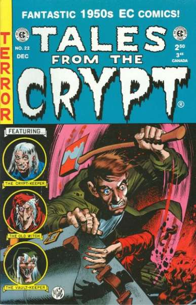 Tales from the Crypt #22 Comic Books - Covers, Scans, Photos  in Tales from the Crypt Comic Books - Covers, Scans, Gallery