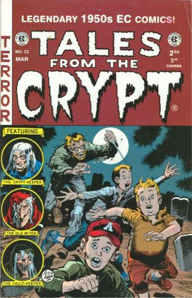 Tales from the Crypt #23 comic books - cover scans photos Tales from the Crypt #23 comic books - covers, picture gallery