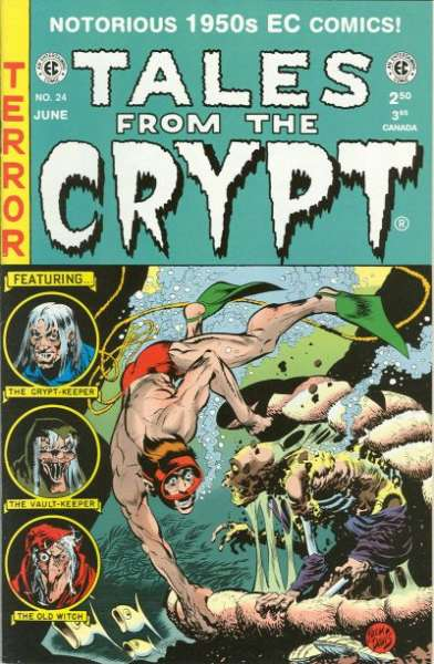 Tales from the Crypt #24 comic books - cover scans photos Tales from the Crypt #24 comic books - covers, picture gallery