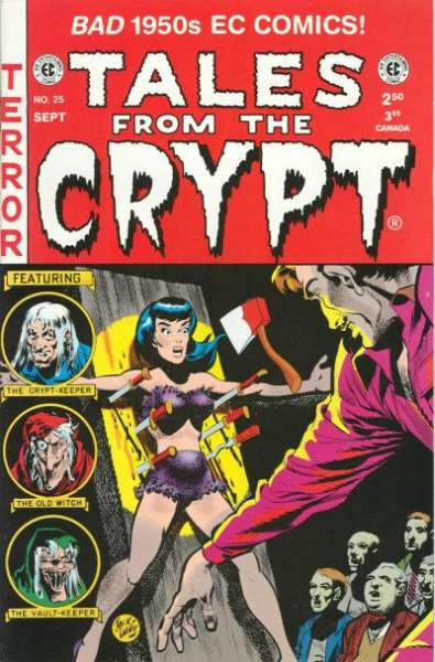 Tales from the Crypt #25 comic books - cover scans photos Tales from the Crypt #25 comic books - covers, picture gallery