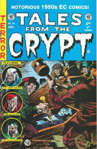 Tales from the Crypt #26 Comic Books - Covers, Scans, Photos  in Tales from the Crypt Comic Books - Covers, Scans, Gallery