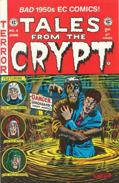 Tales from the Crypt #8 Comic Books - Covers, Scans, Photos  in Tales from the Crypt Comic Books - Covers, Scans, Gallery