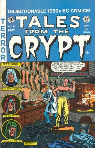 Tales from the Crypt #9 Comic Books - Covers, Scans, Photos  in Tales from the Crypt Comic Books - Covers, Scans, Gallery