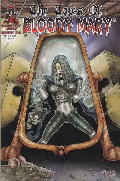 Tales of Bloody Mary #4 comic books - cover scans photos Tales of Bloody Mary #4 comic books - covers, picture gallery
