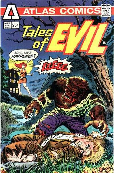 Tales of Evil comic books