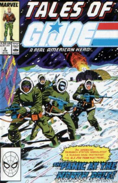 Tales of G.I. Joe #2 Comic Books - Covers, Scans, Photos  in Tales of G.I. Joe Comic Books - Covers, Scans, Gallery