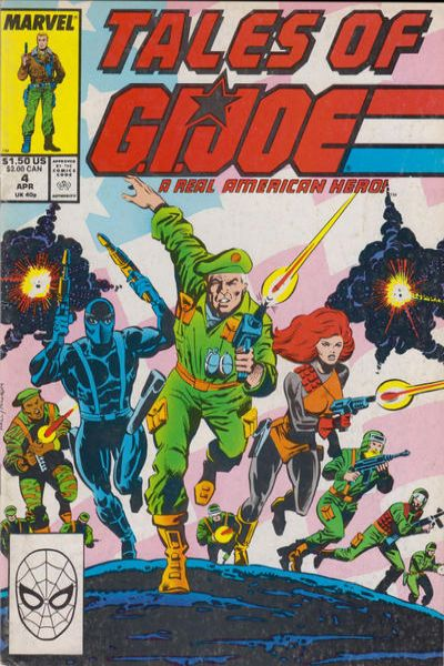 Tales of G.I. Joe #4 Comic Books - Covers, Scans, Photos  in Tales of G.I. Joe Comic Books - Covers, Scans, Gallery
