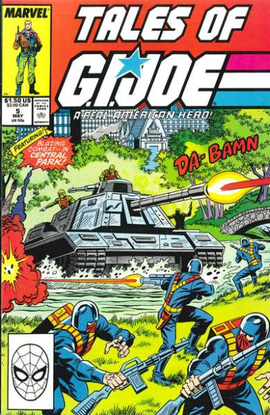 Tales of G.I. Joe #5 comic books - cover scans photos Tales of G.I. Joe #5 comic books - covers, picture gallery