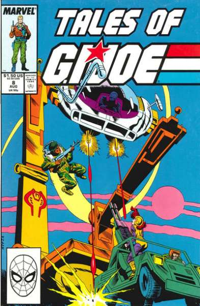 Tales of G.I. Joe #8 comic books - cover scans photos Tales of G.I. Joe #8 comic books - covers, picture gallery