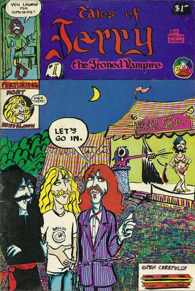 Tales of Jerry the Stoned Vampire #1 Comic Books - Covers, Scans, Photos  in Tales of Jerry the Stoned Vampire Comic Books - Covers, Scans, Gallery