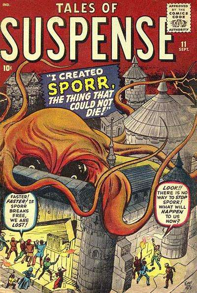 Tales of Suspense #11 comic books for sale