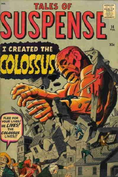 Tales of Suspense #14 Comic Books - Covers, Scans, Photos  in Tales of Suspense Comic Books - Covers, Scans, Gallery