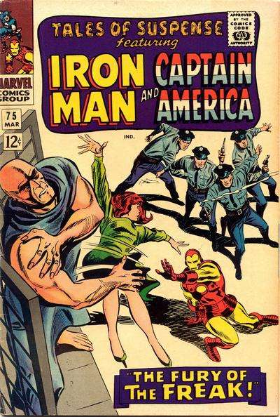 Tales of Suspense #75 Comic Books - Covers, Scans, Photos  in Tales of Suspense Comic Books - Covers, Scans, Gallery