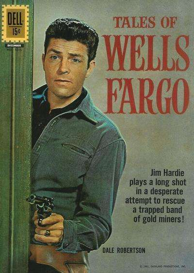 Tales of Wells Fargo #7 comic books - cover scans photos Tales of Wells Fargo #7 comic books - covers, picture gallery