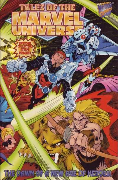 Tales of the Marvel Universe #1 comic books - cover scans photos Tales of the Marvel Universe #1 comic books - covers, picture gallery