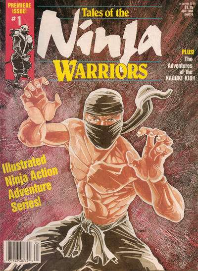 Tales of the Ninja Warriors comic books