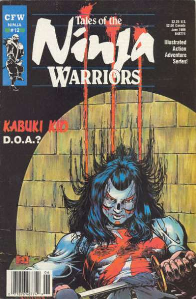 Tales of the Ninja Warriors #12 comic books for sale