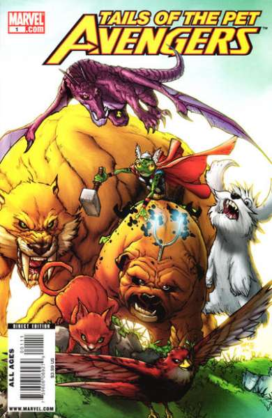 Tales of the Pet Avengers comic books